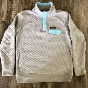 Patagonia quilt snap t pullover